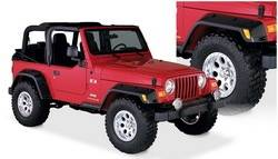 Bushwacker - Bushwacker Pocket Style Fender Flares - Front / Rear