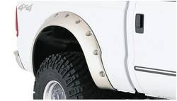 Bushwacker - Bushwacker Cut-Out Fender Flares - Rear