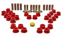 Energy Suspension - Energy Suspension Control Arm Bushing Set - Red