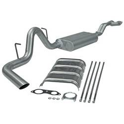 Flowmaster - Flowmaster Force II Single Exhaust System - 1996-99 Chevy Tahoe/GMC Yukon 5.7L