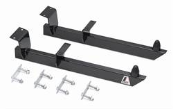 Lakewood Industries - Lakewood Universal Traction Bars - Includes Welded Mounting Brackets  /  Heavy-Duty - 1 / 4 in. Steel Spring Clamps / Hardware / Heavy-Duty Rubber Snubbers
