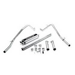 Magnaflow Performance Exhaust - Magnaflow Stainless Steel Cat-Back Performance Exhaust System - Dual Rear Exit