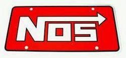 Nitrous Oxide Systems (NOS) - NOS License Plate Logo