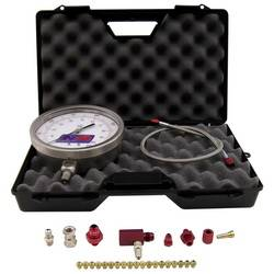 Nitrous Express - Nitrous Express Master Flo-Check Pro Nitrous Pressure Gauge - Includes 6 in. Certified Gauge