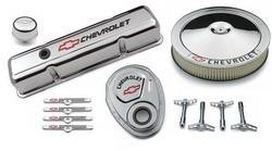 Proform Performance Parts - Proform GM Engine Dress-Up Kit - Bow Tie Emblem - Chrome
