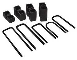 Skyjacker - Skyjacker Block and U-Bolt Kit - 2 in. Lift