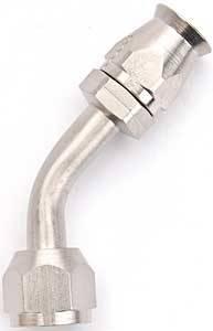 Aeroquip - Aeroquip Air Conditioning Hose End - 45° -6 AN
