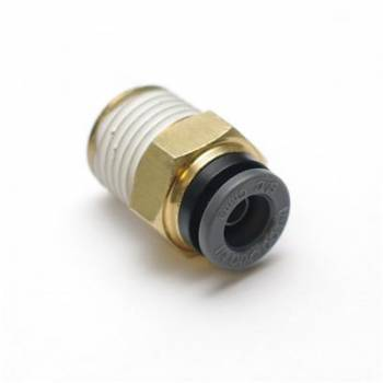 RideTech - RideTech Straight 1/4 NPT to 3/8 Airline Fitting