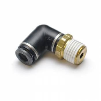 RideTech - RideTech Fitting Swivel Elbow 1/4 NPT to 3/8 Airline
