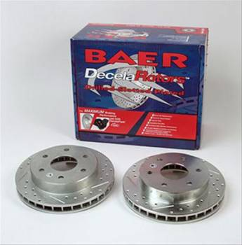 Baer Disc Brakes - Baer Performance Slotted and Drilled Rotors (Set of 2)