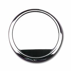 Billet Specialties - Billet Specialties Polished Horn Button - Standard - Plain - Fits Billet Specialties - Lecarra