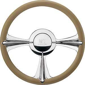 Billet Specialties - Billet Specialties Rail Steering Wheel - 3-Spoke