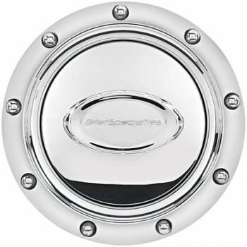 Billet Specialties - Billet Specialties Horn Button Riveted Polished Logo