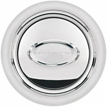 Billet Specialties - Billet Specialties Horn Button Smooth Polished Logo