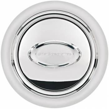Billet Specialties - Billet Specialties Horn Button Smooth Polished Logo