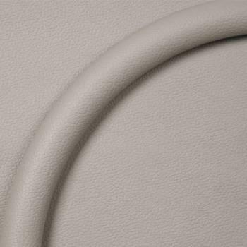 Billet Specialties - Billet Specialties Steering Wheel Half Wrap - Leather - Light Gray 14 in. Diameter