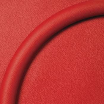 Billet Specialties - Billet Specialties Steering Wheel Half Wrap - Leather - Red 14 in. Diameter