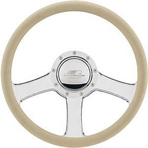 "Billet Specialties - Billet Specialties 14"" Anthem Steering Wheel Half Wrap"