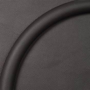 Billet Specialties - Billet Specialties Steering Wheel Half Wrap Ring - Leather - Black - 15.5 in. Diameter