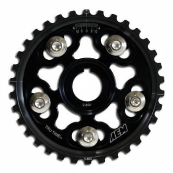 AEM Electronics - AEM Adjustable Cam Gear Black