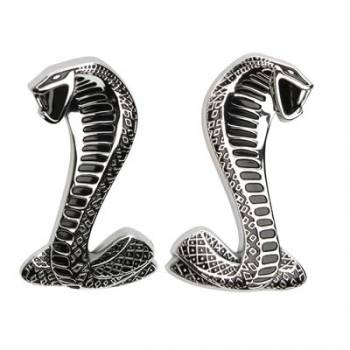 Ford Racing - Ford Racing Cobra Snake Fender Emblems (Pair)