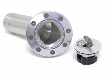 RideTech - RideTech Gas Filler 67-68 Camaro Clear Anodized