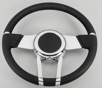 Flaming River - Flaming River WaterFall Steering Wheel Black