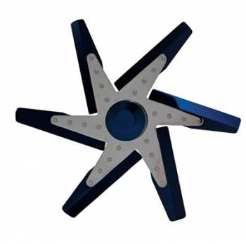 "Derale Performance - Derale 17"" Blue Anodized Fan"