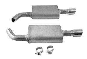 DynoMax Performance Exhaust - Dynomax Stainess Steel Axle Back Exhaust 10- Taurus SHO 3.5L