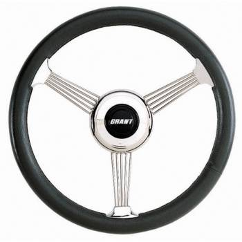 """Grant Steering Wheels - Grant Banjo Style Steering Wheel - 14 3/4"""" - Black"""