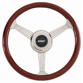 "Grant Steering Wheels - Grant Banjo Style Steering Wheel - 14 3/4"" - Mahogany"