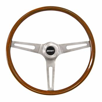 """Grant Steering Wheels - Grant Classic GM Steering Wheel - 14 1/2"""" - Walnut"""