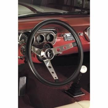 """Grant Steering Wheels - Grant Classic Nostalgia Mustang Steering Wheel - 15"""" - Black"""