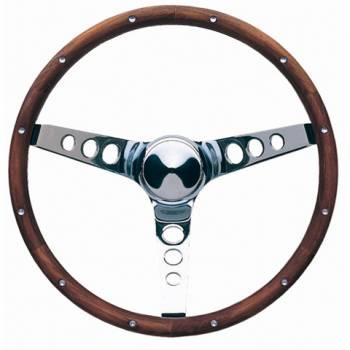 """Grant Steering Wheels - Grant Classic Wood Steering Wheel - 15"""" - Walnut"""