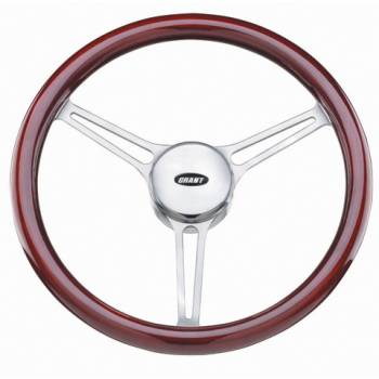 "Grant Steering Wheels - Grant Heritage Sprint 3 Steering Wheel - 14 3/4"" - Mahogany"