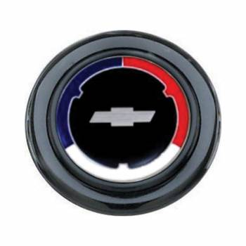 Grant Steering Wheels - Grant Cheverolet Red / White / Blue Horn Button