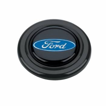 Grant Steering Wheels - Grant Ford Oval Horn Button - Black