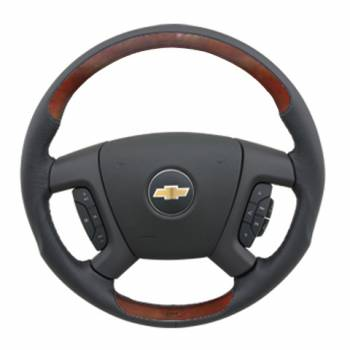 Grant Steering Wheels - Grant Revolution Steering Wheel - OE - Black / Burlwood