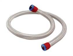 Spectre Performance - Spectre SSteel-Flex Heater Hose Kit - Includes Heater Hose w / 2 Red and Blue Magna-Clamps