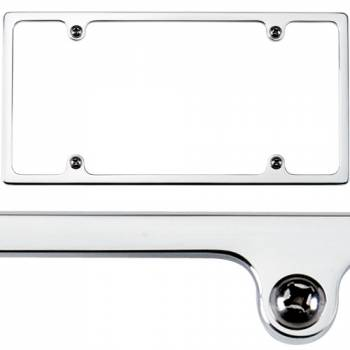 Billet Specialties - Billet Specialties Slimline License Plate Frame - Polished