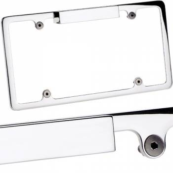 Billet Specialties - Billet Specialties Lighted License Plate Frame - Polished