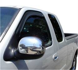 Auto Ventshade - Auto Ventshade Ventvisor In-Channel Deflector - 2 Piece - Smoke