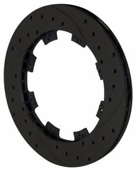 "Wilwood Engineering - Wilwood SRP Drilled Performance Rotor - RH -12.19"" Diameter - .810"" Width - 8 x 7.62"" Bolt Circle - Zinc Plate"