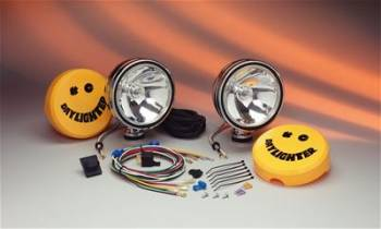 "KC HiLiTES - KC HiLiTES 6"" Chrome Daylighter Kit 100W"