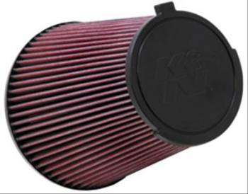 "K&N Filters - K&N Performance Air Filter - Conical - 7-1/2"" Base - 5-3/4"" Top OD - 8"" - 5-5/8"" Flange - Mustang 2010-14"