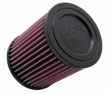 "K&N Filters - K&N Performance Air Filter - 5-3/8"" x 6-3/16"" x 3-5/16"" Flange - Jeep Compass/Patriot 2010-14"