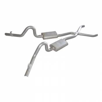 "Pypes Performance Exhaust - Pypes Performance Exhaust 78-88 G-Body 2.5"" Exhaust w/ X-Pipe"