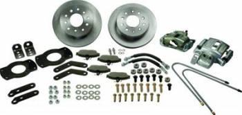 SSBC Performance Brakes - SSBC Chevy Rear Disc Brake Conversion Kit 62-67 Nova/67 Camaro