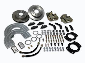 SSBC Performance Brakes - SSB Chevy Disc Brake Conversion Kit - Aluminum Calipers
