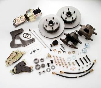 SSBC Performance Brakes - SSB Chevy Drum To Disc Brake Conversion Kit - Front